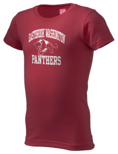 Eastbrook Washington Elementary School Panthers  Girl's Fine Jersey Longer Length T-Shirt