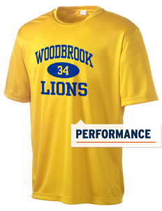 Woodbrook Elementary School Lions Men's Competitor Performance T-Shirt