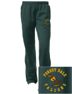 Forest Dale Elementary School Falcons Embroidered Women's Tricot Track Pants