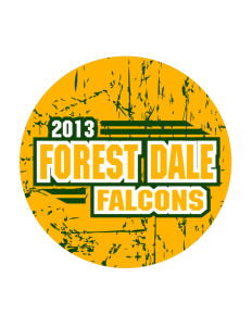 Forest Dale Elementary School Falcons Sticker