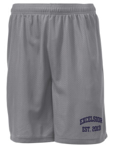 "Excelsior High School na Men's Mesh Shorts, 7-1/2"" Inseam"