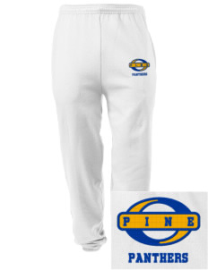 Pine Elementary School Panthers Embroidered Men's Sweatpants with Pockets