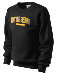 Battle Ground Middle School Tomahawks Kid's Crewneck Sweatshirt