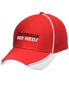 Centerville High School Big Reds Embroidered New Era Contrast Piped Performance Cap