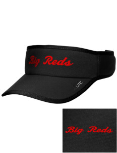 Centerville High School Big Reds Embroidered Lite Series Active Visor