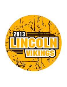 Lincoln Intermediate Center Vikings Sticker