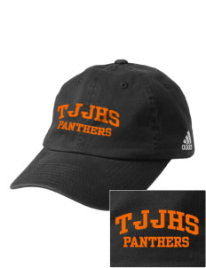 Tripoli Junior & Senior High School Panthers Embroidered adidas Relaxed Cresting Cap