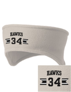 Waverly-Shell Rock Junior High School Hawks Embroidered Fleece Headband