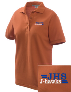 Jesup High School J-Hawks Women's Embroidered Silk Touch Polo