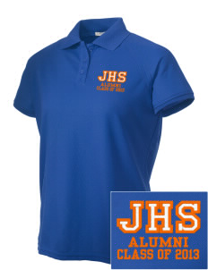 Jesup High School J-Hawks Embroidered Women's Technical Performance Polo