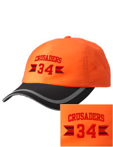 Coon Rapids-Bayard Elementary School Crusaders  Embroidered Safety Cap