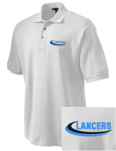 Meservey-Thornton School Lancers Embroidered Tall Men's Pique Polo