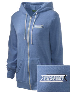 Meservey-Thornton School Lancers Embroidered Alternative Unisex The Rocky Eco-Fleece Hooded Sweatshirt
