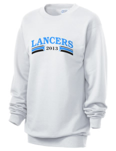 Meservey-Thornton School Lancers Unisex 7.8 oz Lightweight Crewneck Sweatshirt