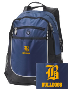 MFL MarMac School - McGregor Center Bulldogs Embroidered OGIO Carbon Backpack