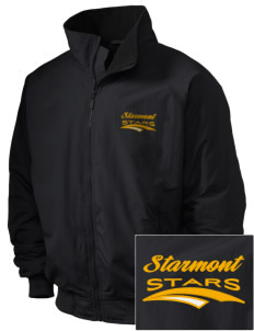 Starmont Elementary School Stars Embroidered Holloway Men's Tall Jacket