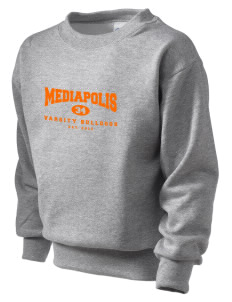 Mediapolis Middle School Bulldogs Kid's Crewneck Sweatshirt