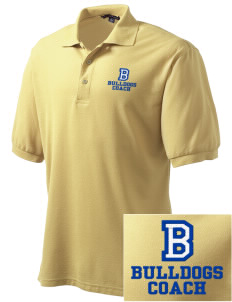Bryant Elementary School Bulldogs Embroidered Tall Men's Silk Touch Polo