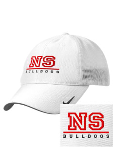North Side Elementary School Bulldogs Embroidered Nike Golf Mesh Back Cap