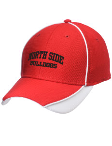 North Side Elementary School Bulldogs Embroidered New Era Contrast Piped Performance Cap