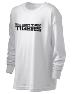Guthrie Center Junior High School Tigers Kid's 6.1 oz Long Sleeve Ultra Cotton T-Shirt