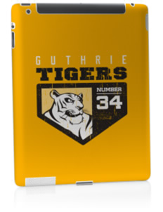 Guthrie Center Junior High School Tigers Apple iPad 2 Skin