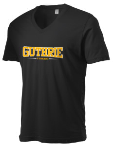 Guthrie Center Junior High School Tigers Alternative Men's 3.7 oz Basic V-Neck T-Shirt