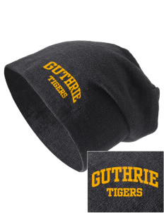 Guthrie Center Junior High School Tigers Embroidered Slouch Beanie
