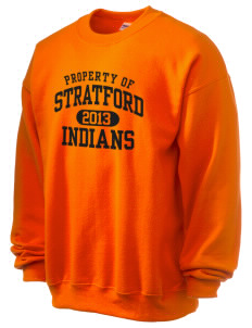 Stratford Community School Lynx Ultra Blend 50/50 Crewneck Sweatshirt