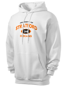 Stratford Community School Lynx Men's 7.8 oz Lightweight Hooded Sweatshirt