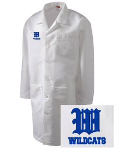 Clyde D Mease Elementary School Wildcats Full-Length Lab Coat