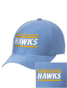Lynnville-Sully Elementary School Hawks Embroidered Wool Adjustable Cap