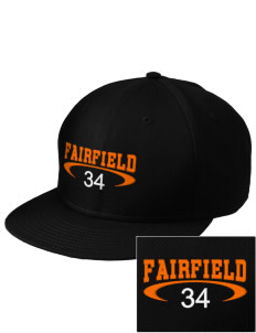 Fairfield Senior High School Trojans  Embroidered New Era Flat Bill Snapback Cap