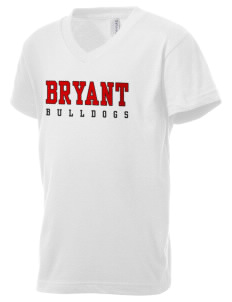 Bryant Elementary School Bulldogs Kid's V-Neck Jersey T-Shirt