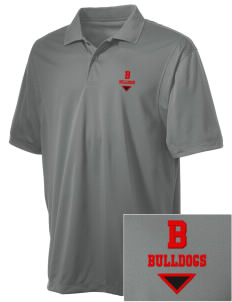 Bryant Elementary School Bulldogs Embroidered Men's Micro Pique Polo