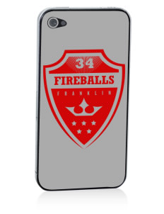 Franklin Elementary School Fireballs Apple iPhone 4/4S Skin