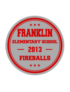 Franklin Elementary School Fireballs Sticker