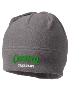 Central Elementary School Spartans Embroidered Fleece Beanie