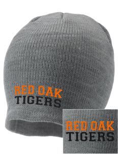 Red Oak Middle School Tigers Embroidered Knit Cap