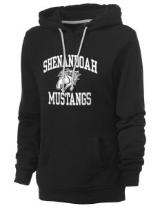 Shenandoah Elementary School Mustangs Women's Core Fleece Hooded Sweatshirt