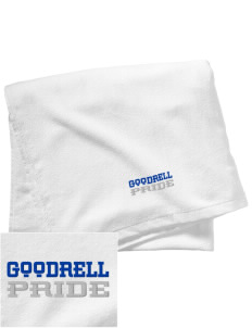 Goodrell Middle School Pioneers Embroidered Beach Towel