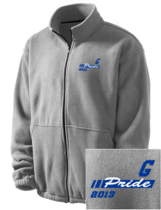 Goodrell Middle School Pioneers Embroidered Men's Fleece Jacket
