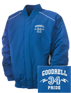 Goodrell Middle School Pioneers Embroidered Russell Men's Baseball Jacket