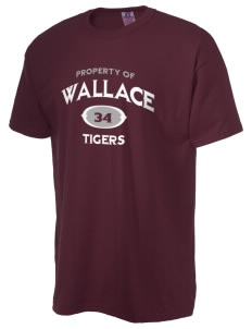 Wallace Elementary School Tigers  Russell Men's NuBlend T-Shirt