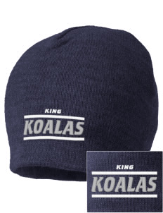 King Elementary School Koalas Embroidered Beanie
