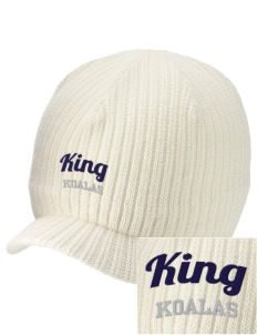 King Elementary School Koalas Embroidered Knit Beanie with Visor