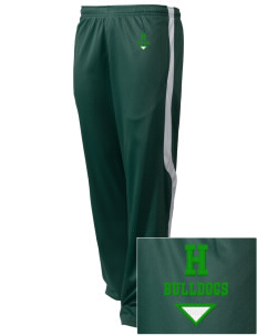 Hoover Elementary School Bulldogs Embroidered Holloway Men's Tricotex Warm Up Pants
