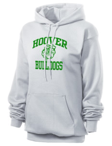 Hoover Elementary School Bulldogs Unisex 7.8 oz Lightweight Hooded Sweatshirt