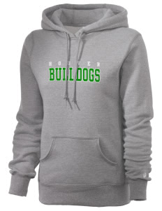 Hoover Elementary School Bulldogs Russell Women's Pro Cotton Fleece Hooded Sweatshirt