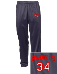 Sac Community High School Indians Embroidered Men's Tricot Track Pants